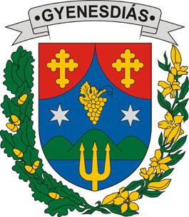 Gyenesdiás település címere