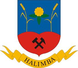 Halimba település címere