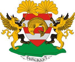 Halmaj település címere