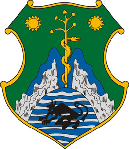 Harkány település címere