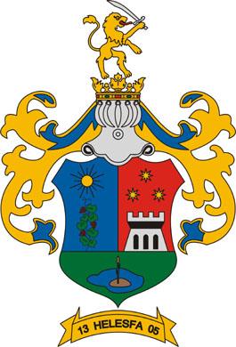 Helesfa település címere