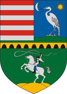 Hortobágy település címere