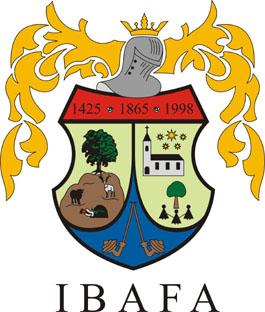 Ibafa település címere