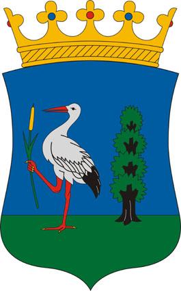 Izsák település címere