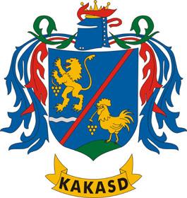 Kakasd település címere