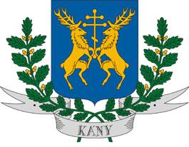 Kány település címere