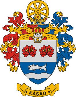 Kásád település címere