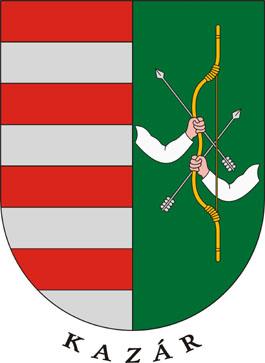 Kazár település címere