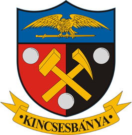 Kincsesbánya település címere