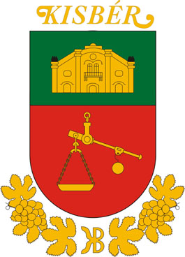 Kisbér település címere