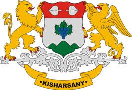 Kisharsány település címere