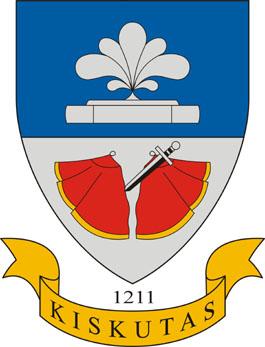 Kiskutas település címere