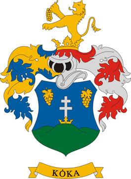 Kóka település címere