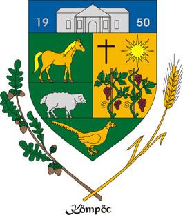 Kömpöc település címere
