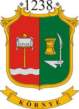 Környe település címere
