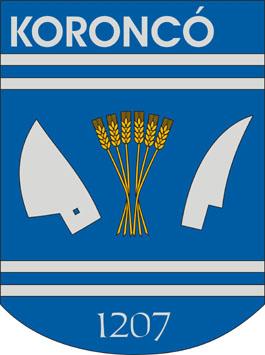 Koroncó település címere