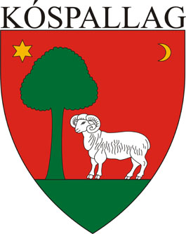 Kóspallag település címere