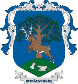 Kovácsvágás település címere