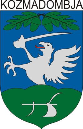 Kozmadombja település címere