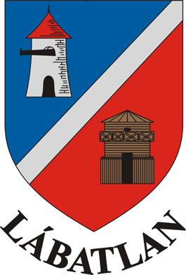 Lábatlan település címere