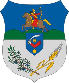 Ladánybene település címere
