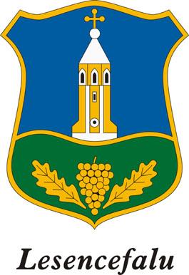 Lesencefalu település címere