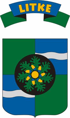 Litke település címere