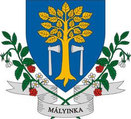 Mályinka település címere