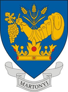 Martonyi település címere