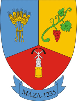 Máza település címere