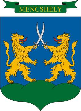 Mencshely település címere