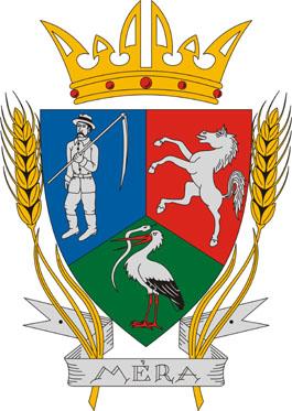 Méra település címere