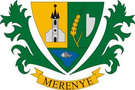 Merenye település címere