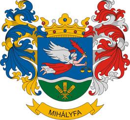 Mihályfa település címere