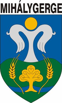 Mihálygerge település címere