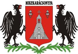 Mikekarácsonyfa település címere
