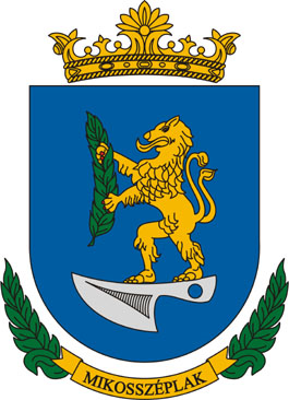 Mikosszéplak település címere