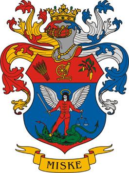 Miske település címere