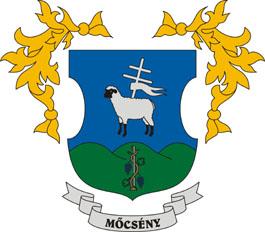 Mőcsény település címere