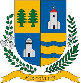 Móricgát település címere