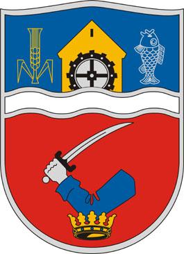 Nagybajcs település címere