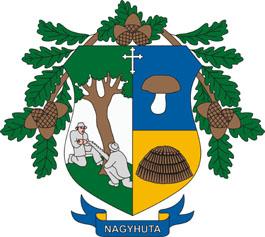 Nagyhuta település címere
