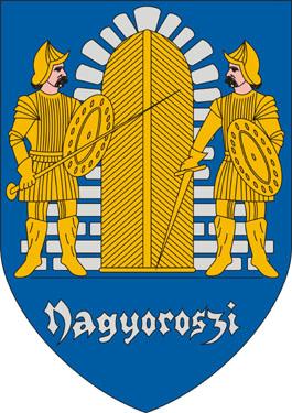 Nagyoroszi település címere