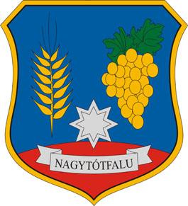 Nagytótfalu település címere