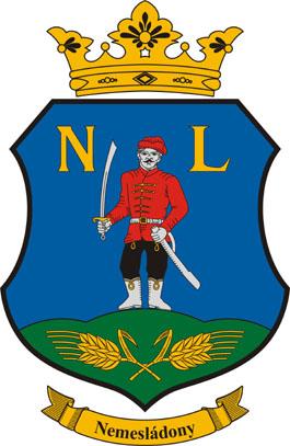 Nemesládony település címere