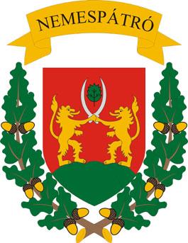 Nemespátró település címere
