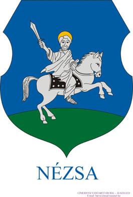 Nézsa település címere
