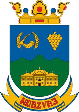 Noszvaj település címere
