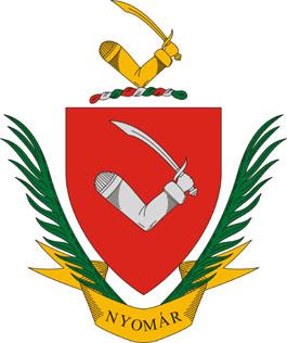 Nyomár település címere