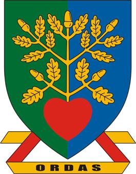 Ordas település címere